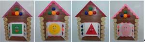 Конспект непосредственно образовательной деятельности для детей среднего дошкольного возраста «Геометрические фигуры»