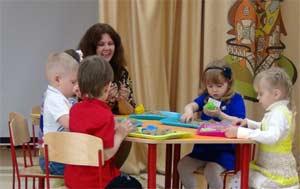 Песочная терапия как средство адаптации детей раннего возраста