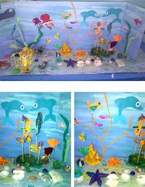 Конспект занятия по конструктивно-модельной деятельности в подготовительной к школе группе на тему: «Подводный мир»