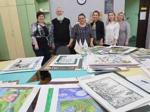 28 апреля 2018 года проведено судейство всероссийского конкурса-выставки детского художественного творчества «Моя Родина — моя Россия»