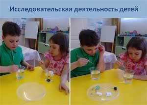 Опыт работы по исследовательской и экспериментальной деятельности в первой младшей группе «Лучики»