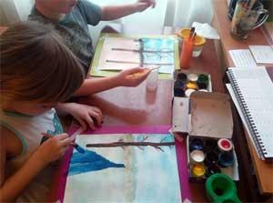 Конспект ООД по изобразительной деятельности для детей старшего дошкольного возраста (6 – 7 лет) «Весеннее пробуждение природы».