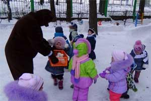Сценарий развлечения для детей 2-4 лет в детском саду «Забавы с медведицей»