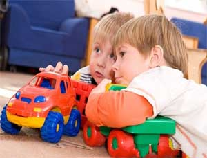 Дружба детей в детском саду.