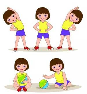 Комплексы утренней гимнастики для детей старшей группы
