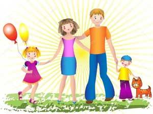 Музыкально-спортивное развлечение для детей старшей и подготовительной группы «Мама, папа, я – вместе дружная семья»
