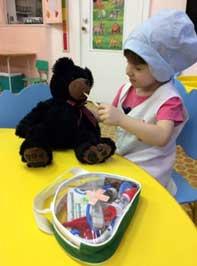 КОНСПЕКТ ЗАНЯТИЯ ВО II МЛАДШЕЙ ГРУППЕ «Наш мишка заболел»