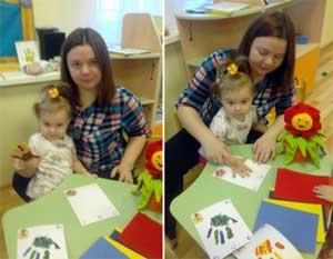 Конспект непрерывной непосредственно организованной образовательной деятельности: нетрадиционное рисование с детьми 1 младшей группы «Веселые ладошки»