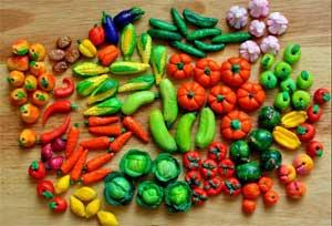 Конспект занятия по развитию творческих способностей в продуктивной деятельности младших дошкольников «Как помирились овощи и фрукты»