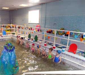 Сценарий физкультурного досуга с детьми среднего возраста «В гостях у Водяного»