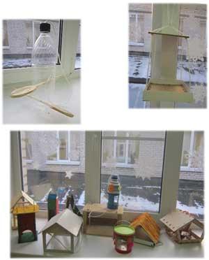 В нашей группе прошла акция: «Покормим птиц зимой»