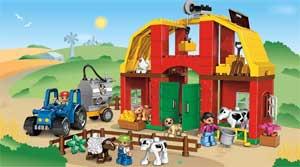 Организация непрерывной непосредственно образовательной деятельности детей в средней группе «Домашние животные на ферме»