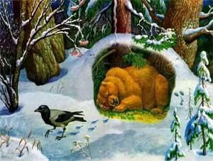 Конспект НОД «Дикие животные зимой»