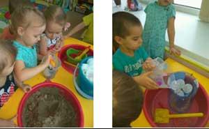 Организация непрерывной образовательной деятельности для детей второй младшей группы «Волшебная снежинка»
