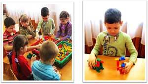 Конспект непосредственной образовательной деятельности для детей старшей группы с ОНР «Сказка в гости к нам пришла» с использованием ЛЕГО-технологии