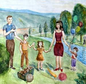 ПРОЕКТ ИНФОРМАЦИОННО-ТВОРЧЕСКИЙ «Моя семья»