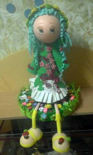 Название материала: «Куклы из фоамирана»