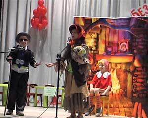 Театрализованное представление по ПДД в детском саду для детей старшего возраста «Приключения Буратино»