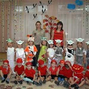 Театрализованное представление в средней группе «Один дома или коза с козлятами»