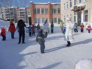Сценарий зимнего праздника на улице для детей старшего дошкольного возраста «Ключи от снежного царства»