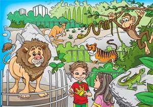 НА ДЕРЕВЕ ВЫСОКОМ (Экологические стихи для детей)