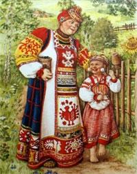 Конспект интегрированного занятия в подготовительной группе (ОНР) с элементами фольклора и нетрадиционными методами ИЗО «В гости к бабушке в деревню»