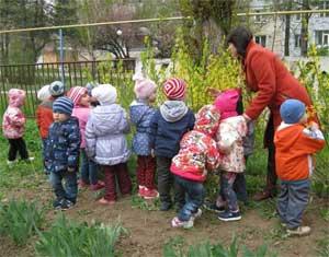 Конспект непосредственной образовательной деятельности по познавательной деятельности на тему: «Весна повсюду» для детей среднего дошкольного возраста на прогулке.