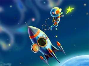 Конкурсы на день космонавтики
