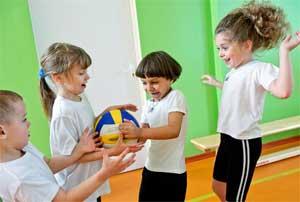 Подвижные игры для детей среднего дошкольного возраста