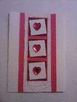 Как сделать открытку валентинку?