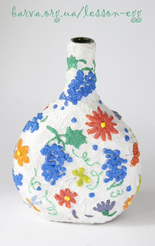 Папье-маше из яичных лотков
