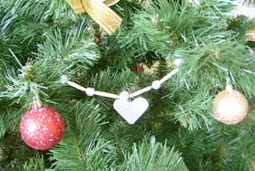 Поделка Бусы на елку