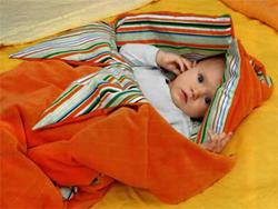 Конверт - спальник для новорожденного